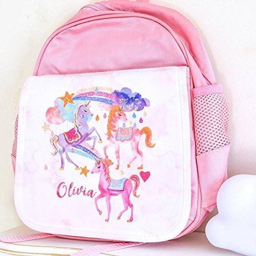 Unicorn School Bag (personalised)  Amazon Co Uk  Handmade