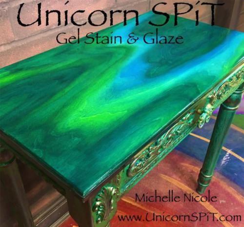 Unicorn Spit Wood Gel Stain, Glaze Wood Glass Metal Navajo Jewel