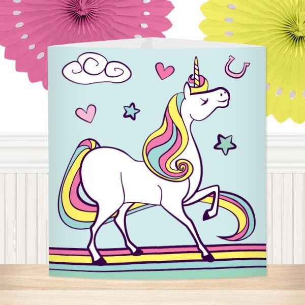 Unicorn Theme Birthday Party Supplies