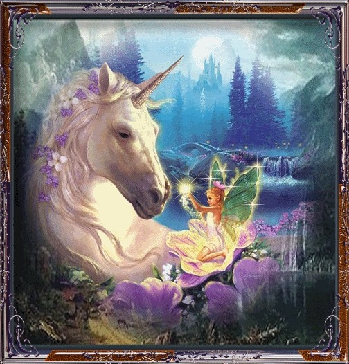 Unicorns Images Unicorn And Fairy Wallpaper And Background Photos