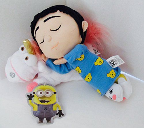 Universal Studios Despicable Me Minion Mayhem Agnes Sleeping On