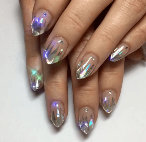 We're Not Done With The Unicorn Craze Yet  These Icy Unicorn Nails