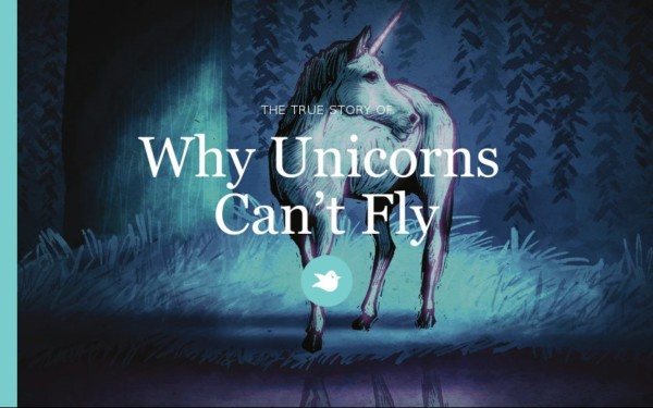 Why Unicorns Can't Fly By Bubbab1rd