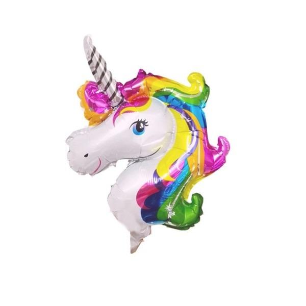 10pcs Mini Anagram Rainbow Unicorn Foil Balloons Birthday Wedding