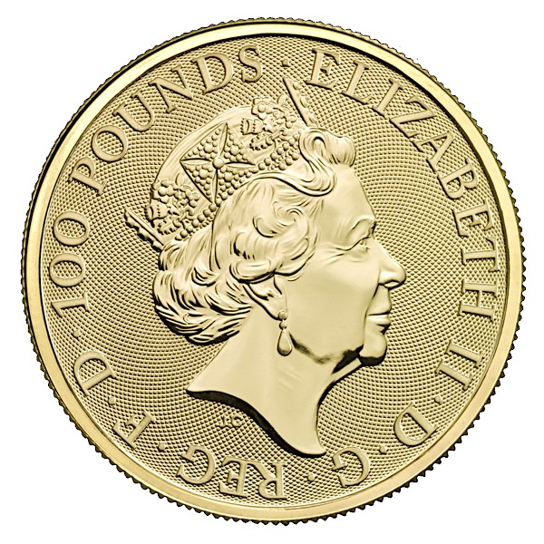 1 Oz British Queen's Beasts Unicorn Gold Coin (2018)