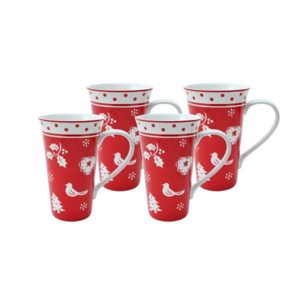 222 Fifth Tivoli Coffee Mug Set Of 4