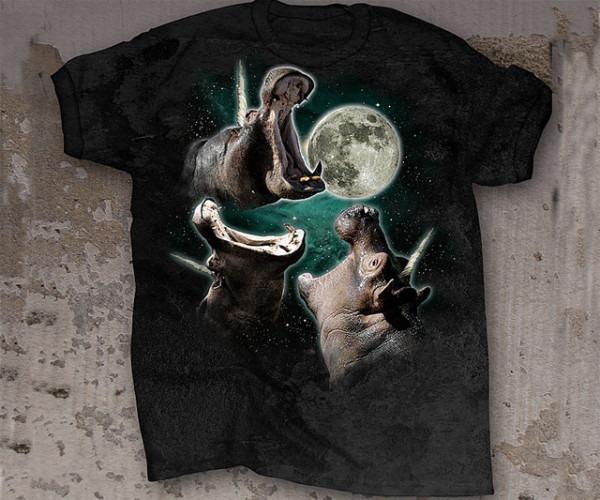 3 Hippopoticorn Moon T