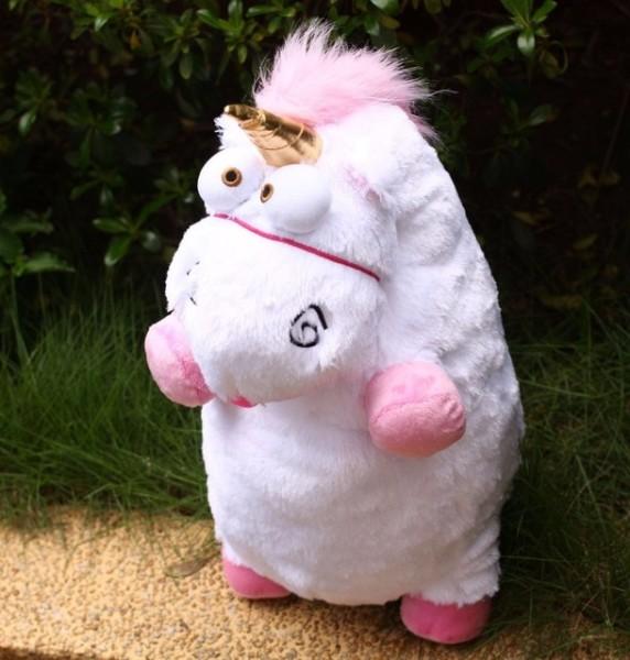 60cm Fluffy Unicorn Horse Minions Stuffed & Plush Animals Stuffed