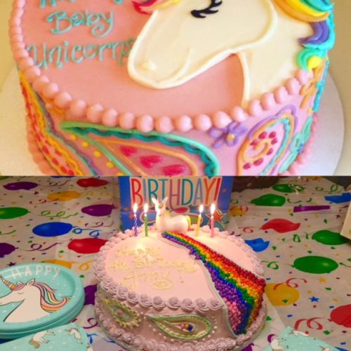 A Unicorn Cake Made Easy – Home With Anny