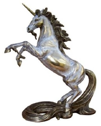 Amazon Com  10 25 Inch Rearing Unicorn Greek Mythology Figurine