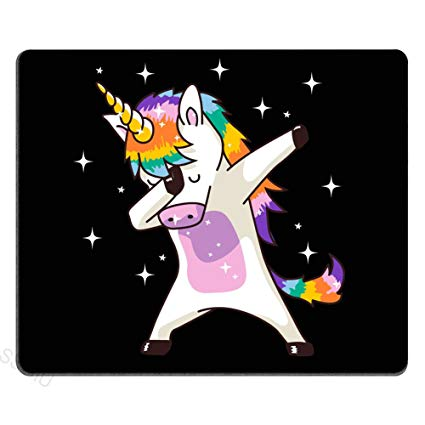 Amazon Com   Ssoiu Funny Unicorn Gaming Mouse Pad Custom, Unicorn