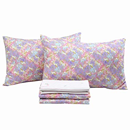 Amazon Com  Brandream Pink Unicorn Bedding Sets Full Size Girls