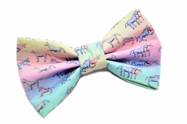 Amazon Com  Charlie Unicorn Bow Tie With Adjustable Strap Adult