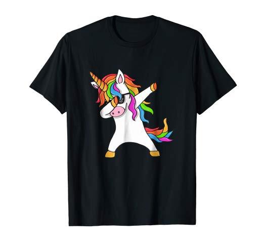 Amazon Com  Dabbing Unicorn T