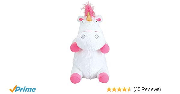 Amazon Com  Despicable Me 3 Jumbo Fluffy Unicorn With Light And