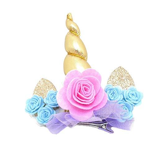 Amazon Com  Djhbuy Kids Baby Girls Hair Clip Toddler Flower Ears
