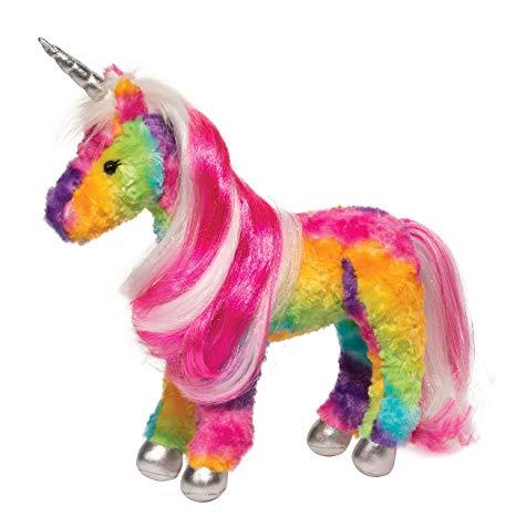 Amazon Com  Douglas Joy Rainbow Unicorn  Toys & Games