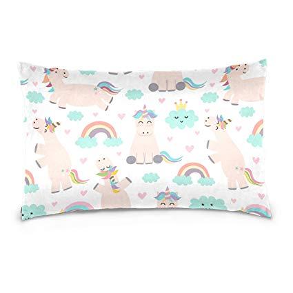 Unicorn Cloud Pillow