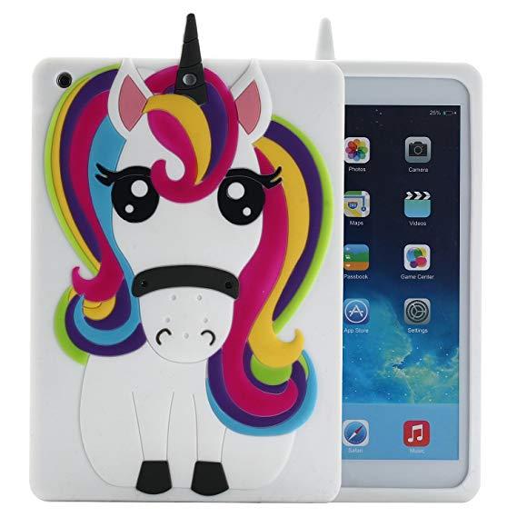 Amazon Com  Ipad Mini 4 Case Unicorn, Awsaccy(tm) Cute Cool 3d