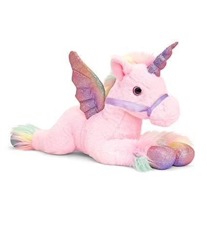 Amazon Com  Keel Toys Unicorn Plush Toy 70cm Pegasus Pink  Home