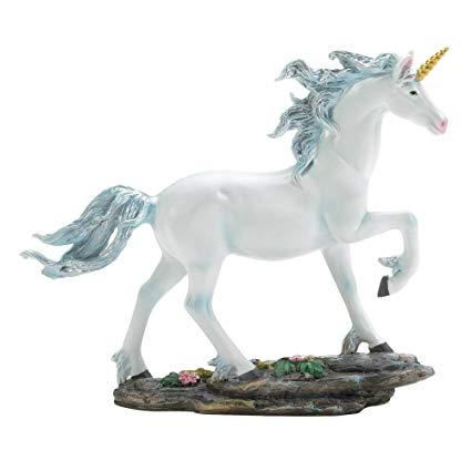 Amazon Com  Koehler 10017949 7 5 Inch White Fantasy Unicorn