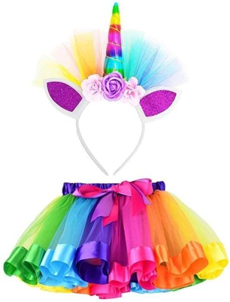 Amazon Com  Lylkd Little Girls Layered Rainbow Tutu Skirts With