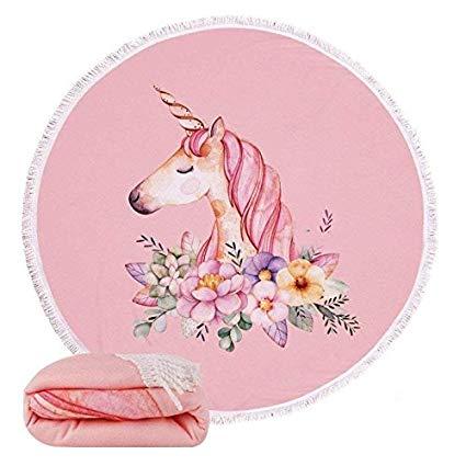 Amazon Com  Morinostation Unicorn Beach Towel For Women&girl
