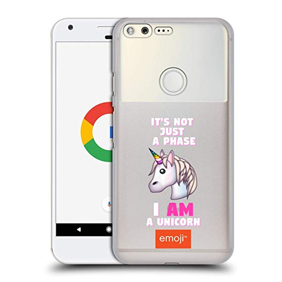 Amazon Com  Official Emoji Unicorn Phase Logos Hard Back Case For