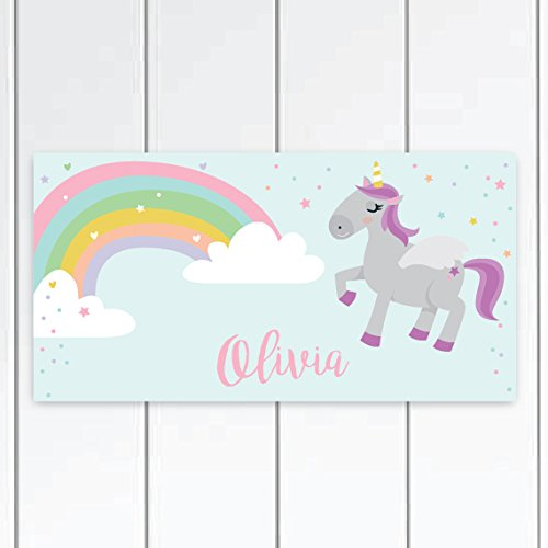 Amazon Com  Personalized Unicorn Door Sign