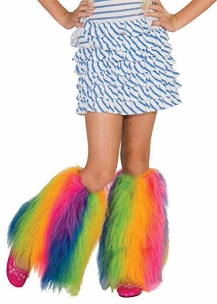 Amazon Com  Rainbow Fluffies Leg Warmers  Toys & Games
