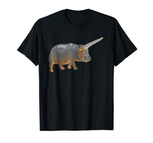 Amazon Com  Retro Baby Hippo Unicorn T