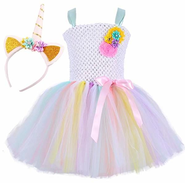 Amazon Com  Tutu Dreams Unicorn Princess Costumes For Girls  Clothing