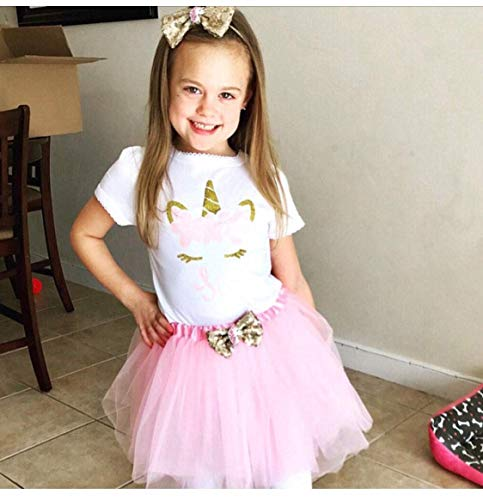 Amazon Com  Unicorn 6th Birthday Outfit Girl Unicorn Birthday