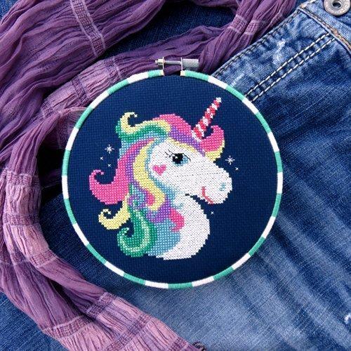 Amazon Com  Unicorn Cross Stitch Pattern