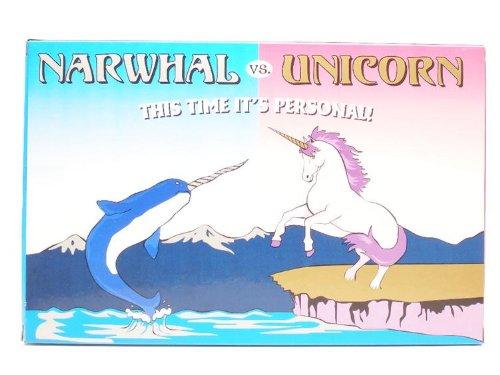 Amazon Com  Unicorn Vs  Narwhal Play Set  Toys & Games