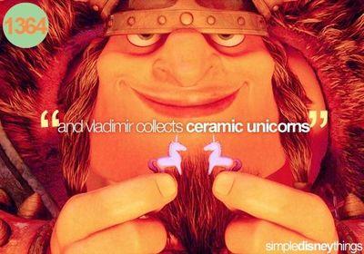 And Vladimir Collects Ceramic Unicorns   Theme Parks I Love