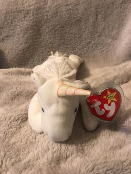 Buy Ty Beanie Baby Unicorn Mystic Retired With Errors 1993