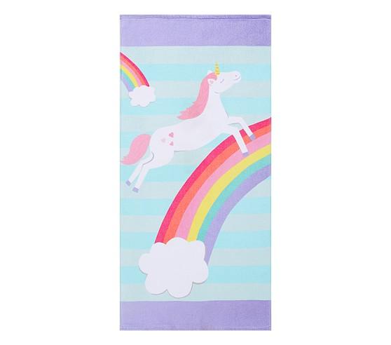 Classic Unicorn Beach Towel