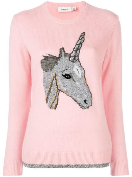 Coach Unicorn Sweater $450