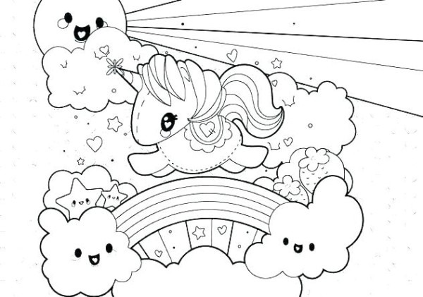Coloring Pages Unicorn Free Unicorn Coloring Pages For Adults