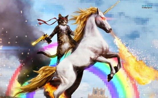 Conduit For Love  Rainbow Cat Unicorn