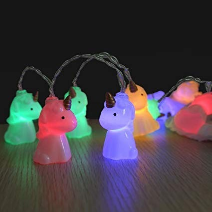 Cute String Lights Amazon Com Loguide Unicorn Shape Led 1 5m 10
