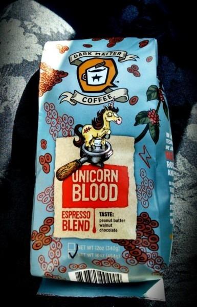 Dark Matter Coffee  Unicorn Blood