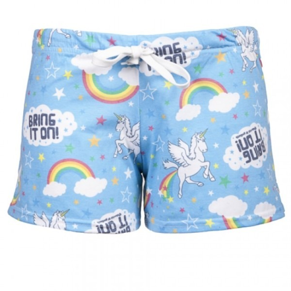 David & Goliath Unicorn Womens Shorts