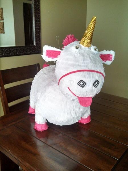Despicable Me Unicorn Pinata By Smashingfuncreations On Etsy