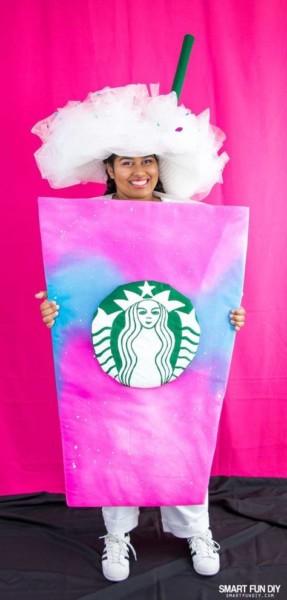 Diy Unicorn Frappuccino Costume!