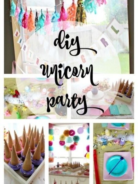 Diy Unicorn Party