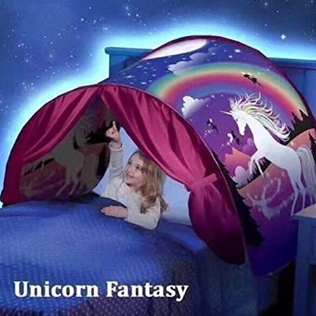 Dream Bed Tents For Kids, Foldable Magic Play Tent, Pop Up Bed
