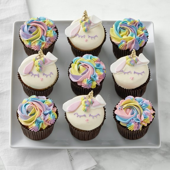 Easter Bunny Unicorn Cupcakes