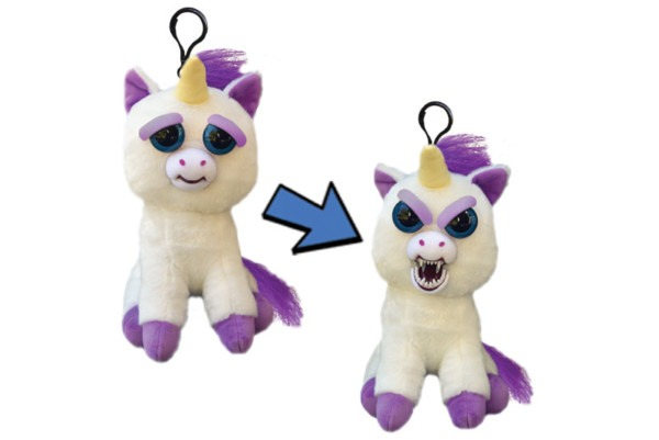 Feisty Pets Mini Glenda Glitterpoop Backpack Hanger That Growls